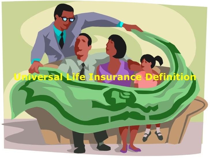 Universal Life Insurance Definition