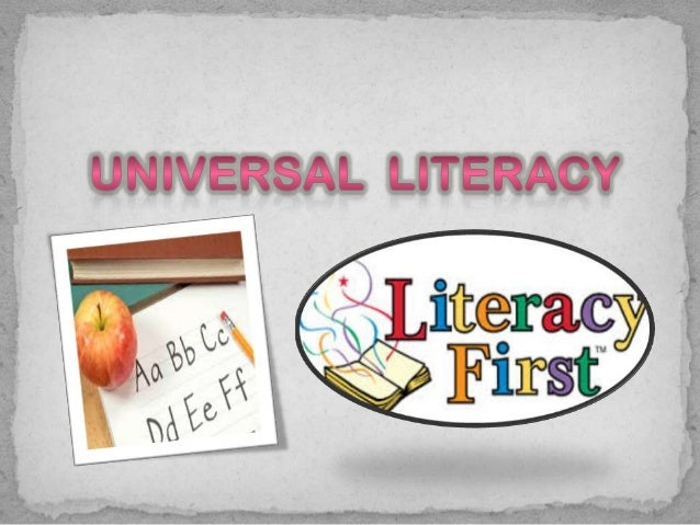  Literacy means the ability to read and write at a level  that enables a person to develop and function effectively in th...
