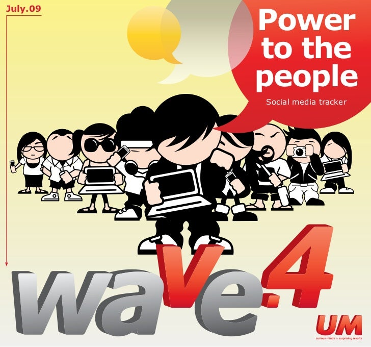 Power July.09               to the           people           Social media tracker