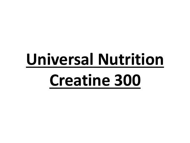 Universal Nutrition Creatine 300