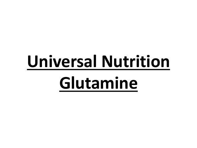 Universal Nutrition Glutamine