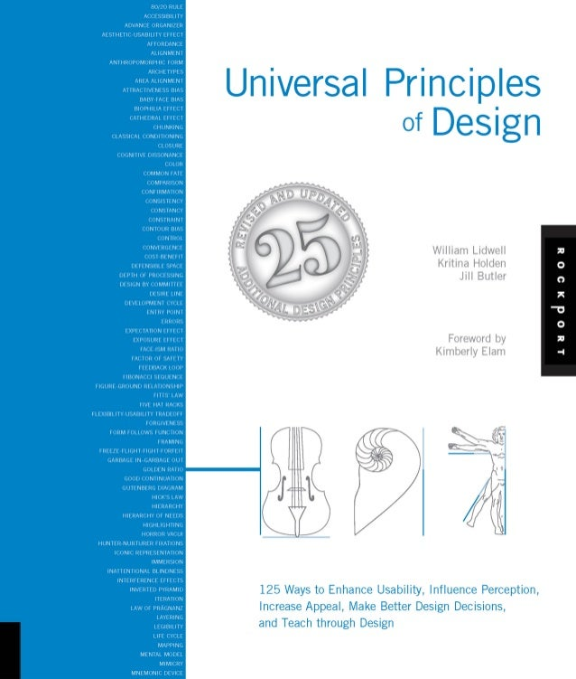 Universal Principles          of Design                                  William Lidwell                                  ...