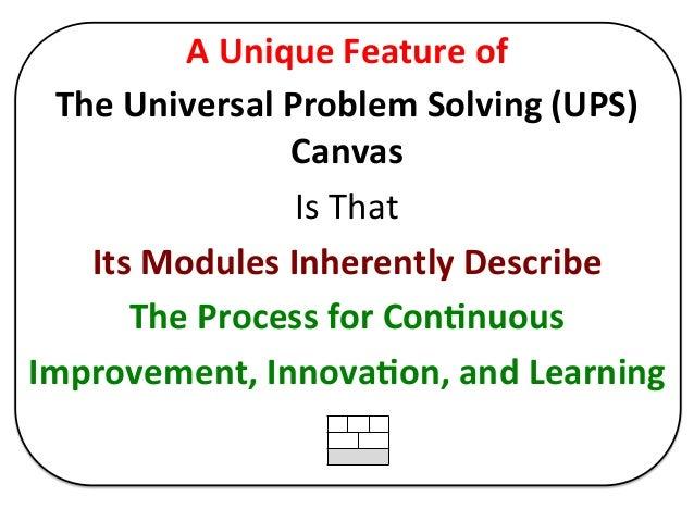 T889 problem solving and improvement