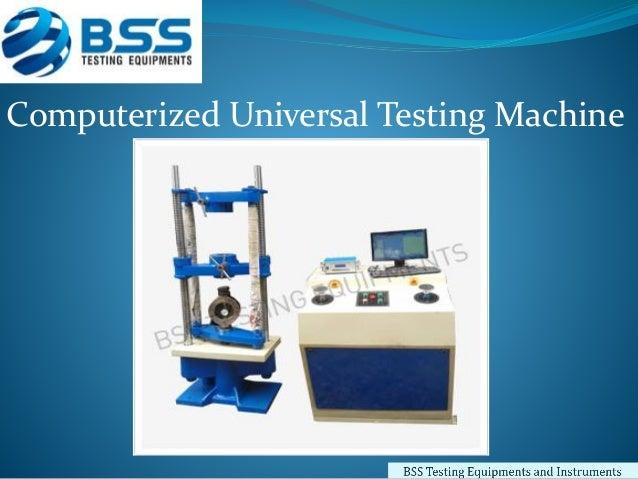 universal testing machine manufacturers