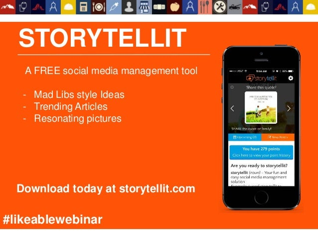 STORYTELLIT A FREE social media management tool - Mad Libs style Ideas - Trending Articles - Resonating pictures Download ...