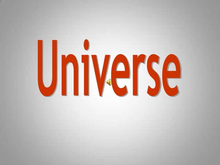 Universe<br />