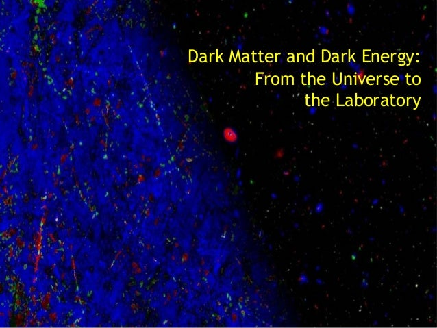 Dark Matter and Dark Energy: From the Universe to the Laboratory