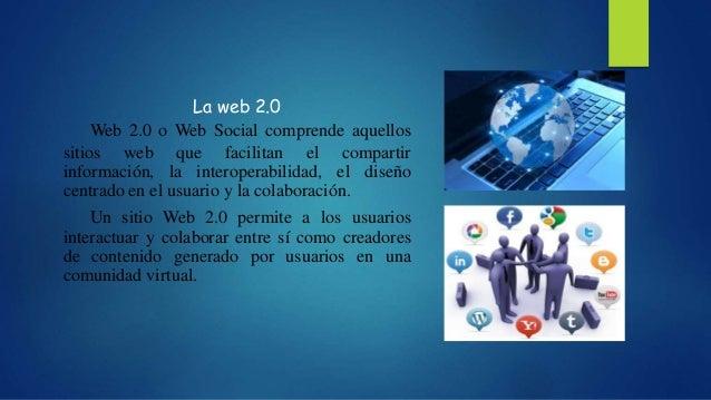 La WEB 2.0  Slide 2
