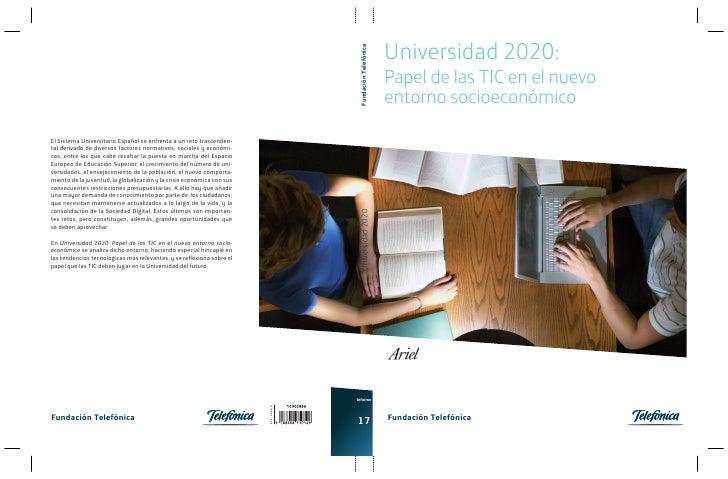 Universidad 2020:                                                                                         Fundación Telefó...