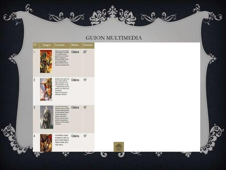 GUION MULTIMEDIA