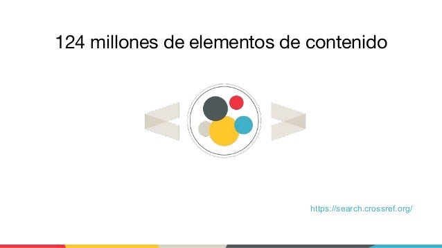 https://search.crossref.org/ 124 millones de elementos de contenido
