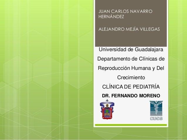 JUAN CARLOS NAVARRO HERNÁNDEZ ALEJANDRO MEJÍA VILLEGAS  Universidad de Guadalajara  Departamento de Clínicas de Reproducci...