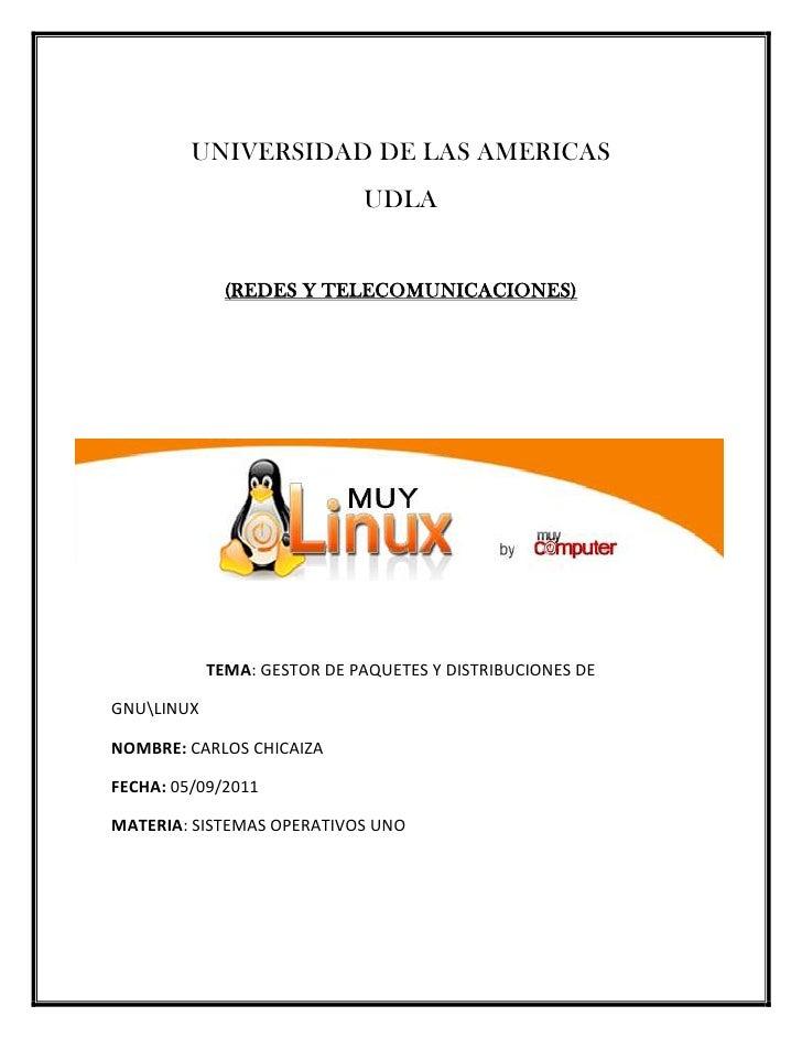 UNIVERSIDAD DE LAS AMERICAS<br />UDLA<br />(REDES Y TELECOMUNICACIONES)<br />-34353584328000                            <b...
