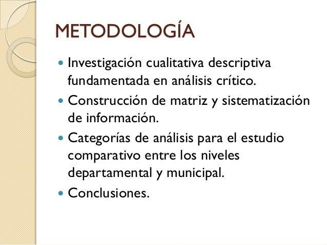 Directriz voluntaria 8 de la FAO en los Planes de Desarrollo del municipio de Pasto y el Departamento de Nariño Slide 3