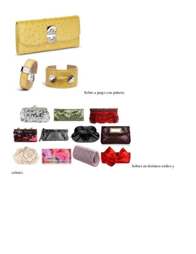 Sobre a juego con pulsera  Sobres en distintos estilos y colores