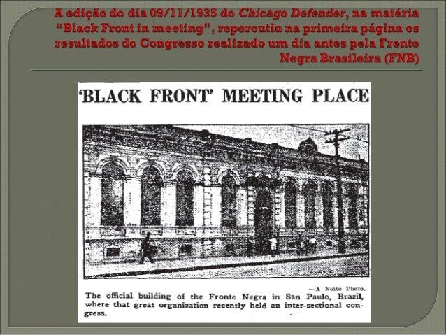 """    """"Parece adequado iniciar esta edição de O Atlântico negro indicando o impacto causado pelos movimentos negros no Bra..."""