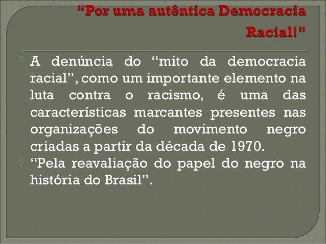 O movimento negro brasileiro no Brasil Republicano