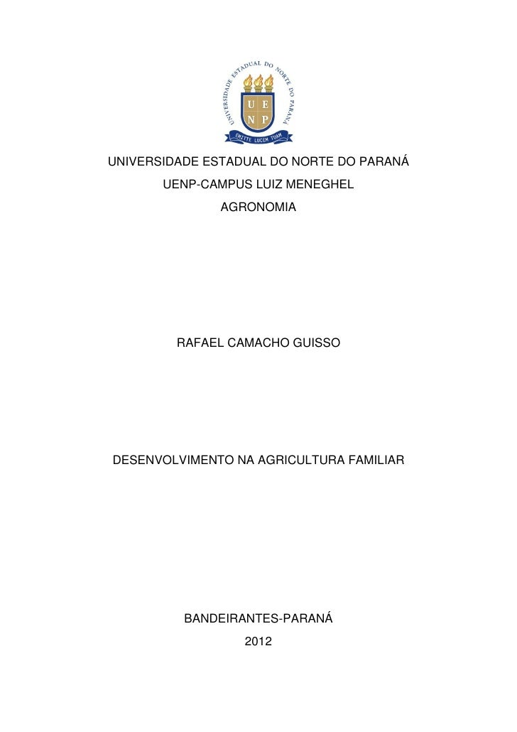UNIVERSIDADE ESTADUAL DO NORTE DO PARANÁ       UENP-CAMPUS LUIZ MENEGHEL              AGRONOMIA         RAFAEL CAMACHO GUI...