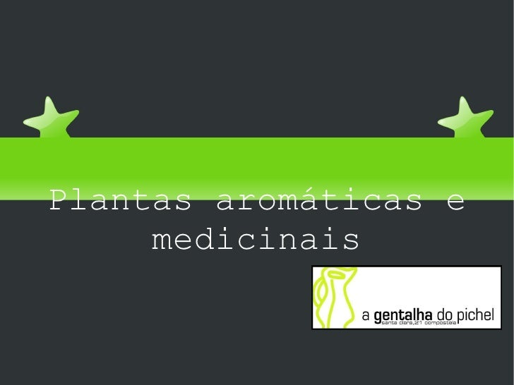 Universidade popular Plantas aromáticas e medicinais