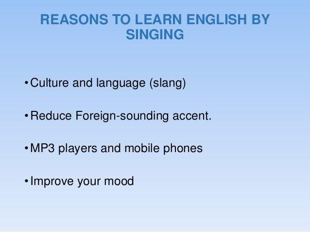 Articles on English language