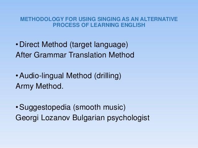 Grammar Translation Method Audio Lingual Method And Direct