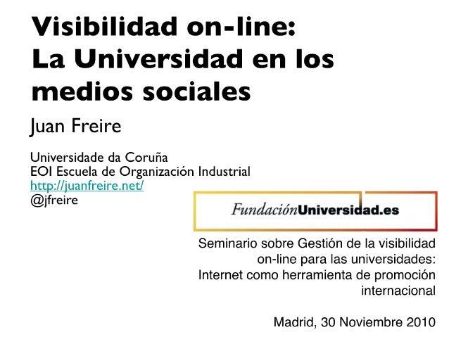 Universidad medios sociales_jfreire_nov10