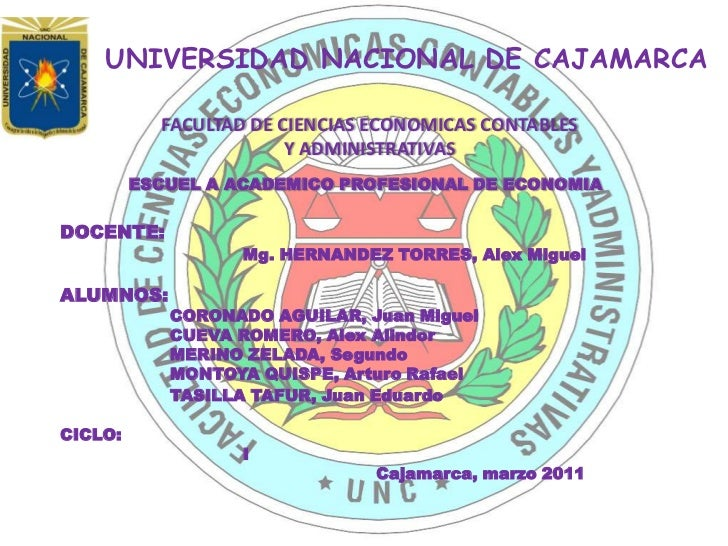 Universidad nacional de cajamarca225454