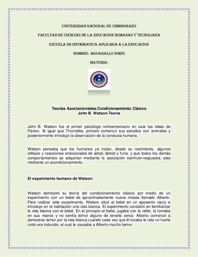 UNIVERSIDAD NACIONAL DE CHIMBORAZO FACULTAD DE CIENCIAS DE LA EDUCACION HUMANAS Y TECNOLOGÍA ESCUELA DE INFORMATICA APLICA...