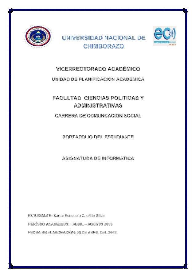E  S» d  UNIVERSIDAD NACIONAL DE CHIMBORAZO  V/ HCEÏJEEGTQAQ ACJAÉLVJIJHCQ  uNJuA e LANIJFIJCJACIJÓN AcAÉivuucA  FAÉULTJ' ...