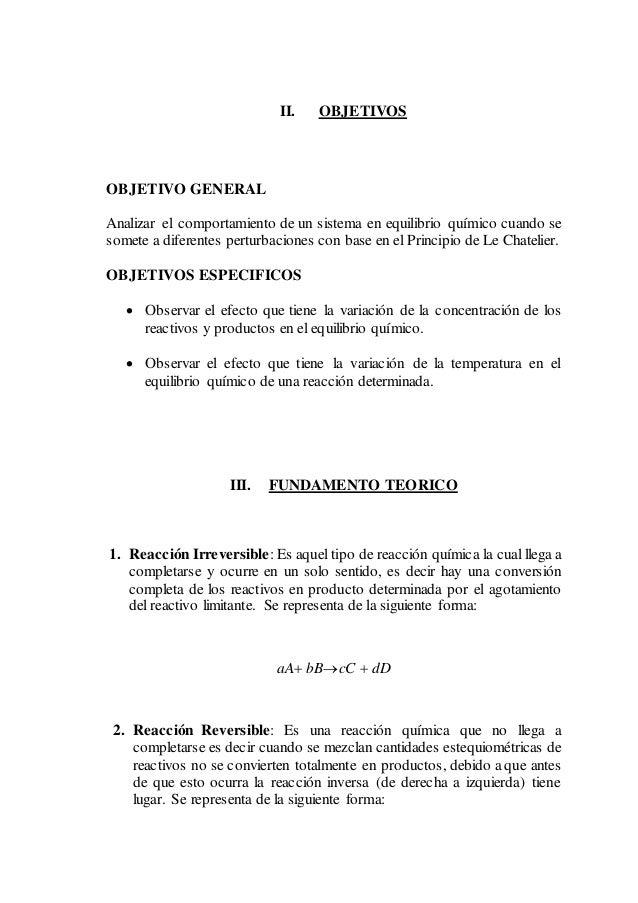 EQUILIBRIO QUIMICO-LABORATORIO QIMICA II Slide 3