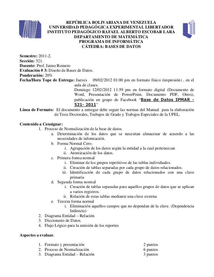 REPÚBLICA BOLIVARIANA DE VENEZUELA                UNIVERSIDAD PEDAGÓGICA EXPERIMENTAL LIBERTADOR               INSTITUTO P...
