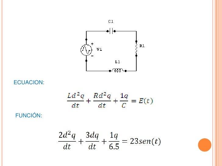 Circuito Rlc Ecuaciones Diferenciales : Ejercicio rcl resuelto con matlab