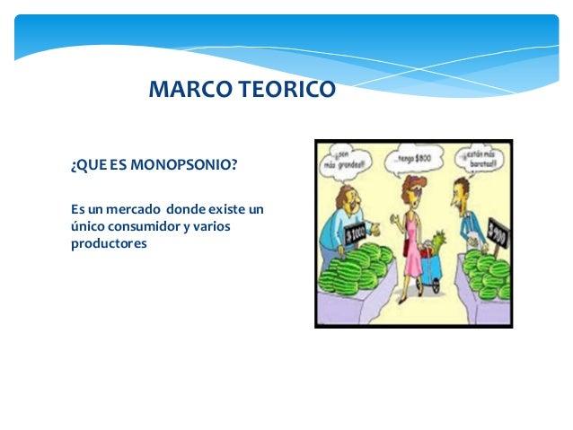 Monopsonio for Que es mercado exterior
