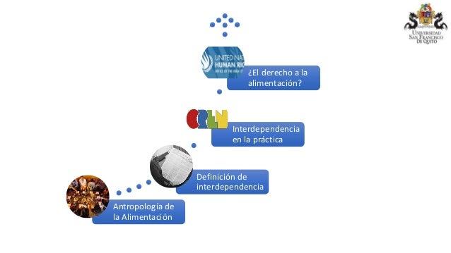 La interdependencia de los derechos en la alimentación Slide 2