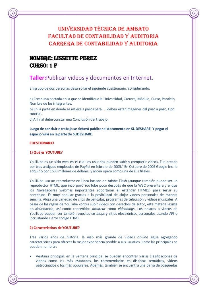 UNIVERSIDAD TÉCNICA DE AMBATO            FACULTAD DE CONTABILIDAD Y AUDITORIA            CARRERA DE CONTABILIDAD Y AUDITOR...
