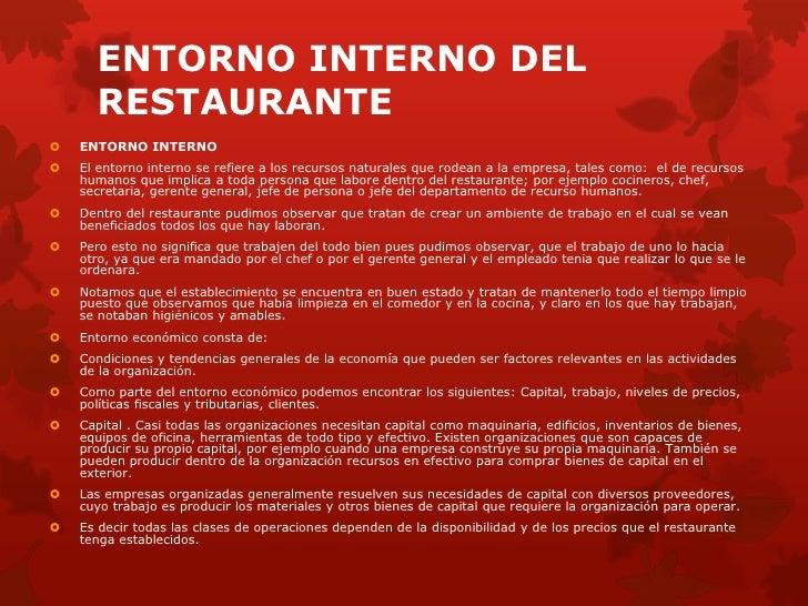 restaurante spetto marking