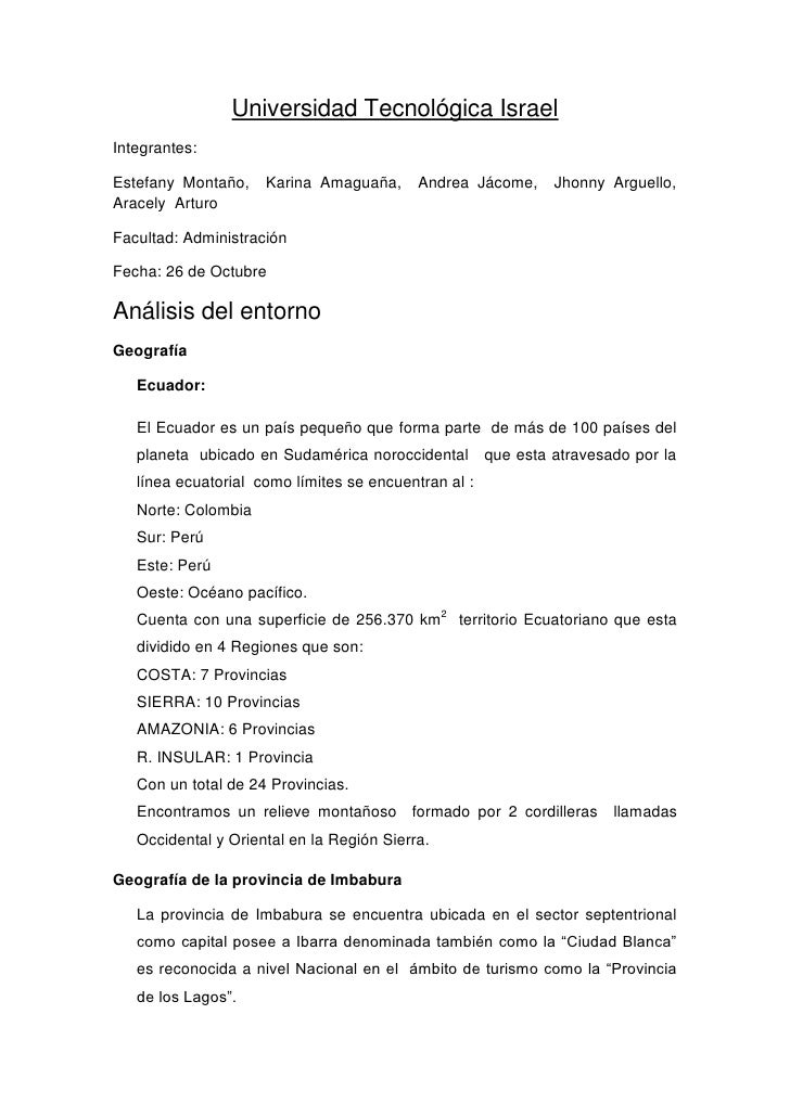 Universidad Tecnológica IsraelIntegrantes:Estefany Montaño,    Karina Amaguaña,      Andrea Jácome,      Jhonny Arguello,A...
