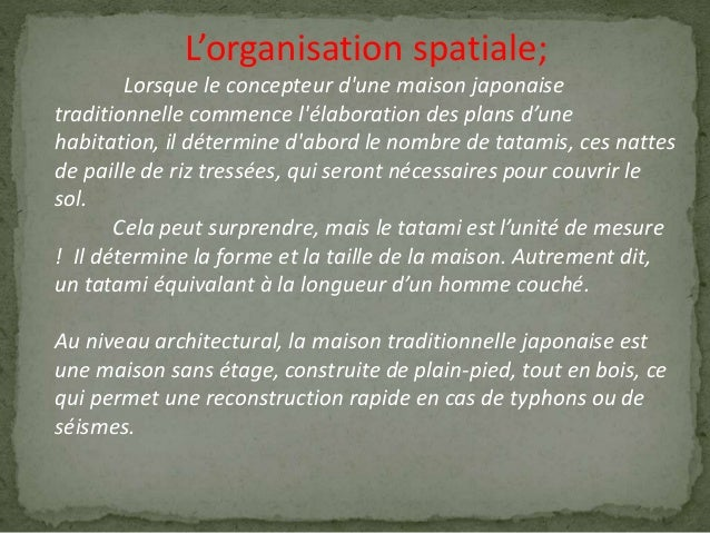 Analyse Maison Traditionnelle
