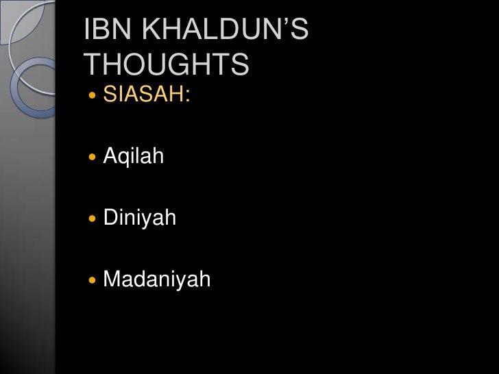 John Locke Vs Ibnu Khaldun