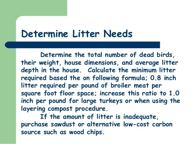 University of delaware on in house composting