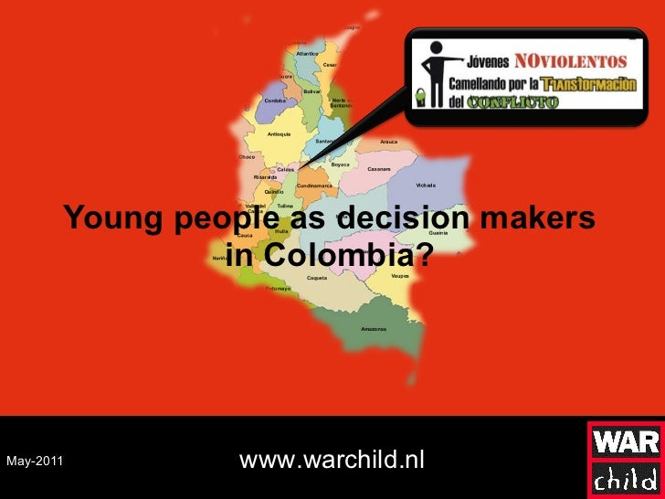 Young people as decision makers in Colombia? May-2011