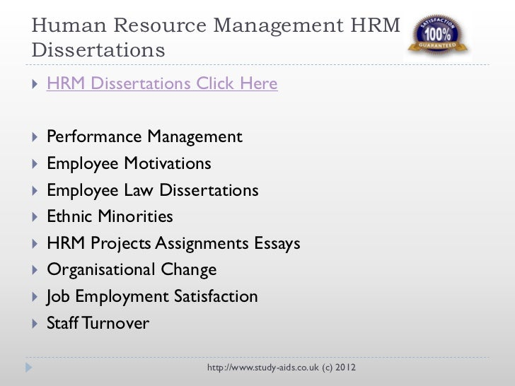 current research topics in human resource management
