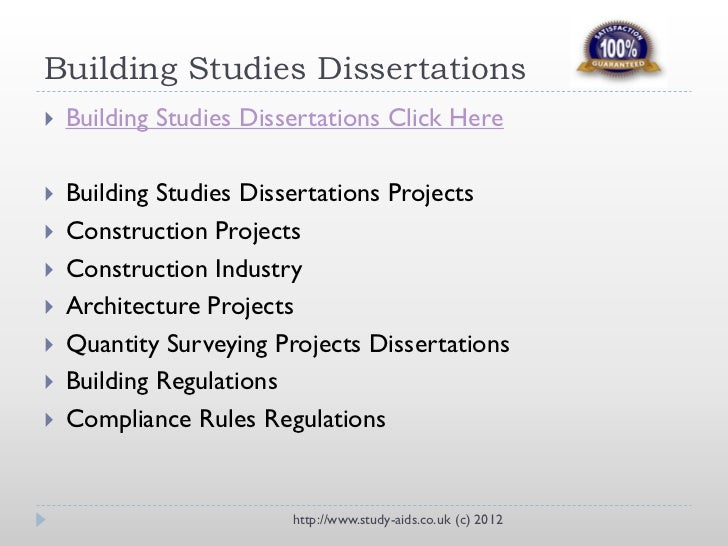 QUANTITY SURVEYING UNDERGRADUATE PROJECT TOPICS, RESEARCH WORKS AND MATERIALS
