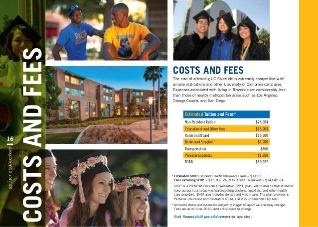 University Of California Riverside Brochure