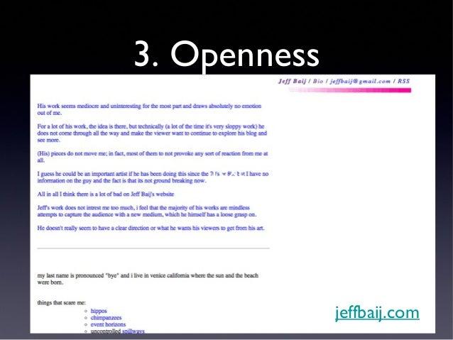 3. Openness              Texttwoplustwoequalsfive-tskyinc.blogspot.com/