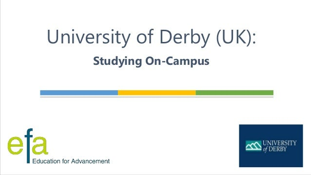 University of Derby (UK): Studying On-Campus