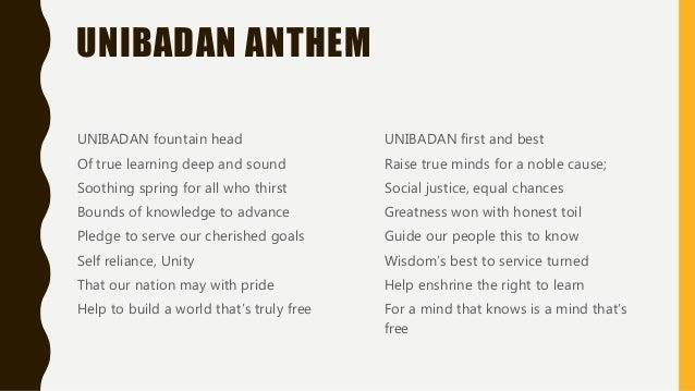 University of Ibadan Slide 3