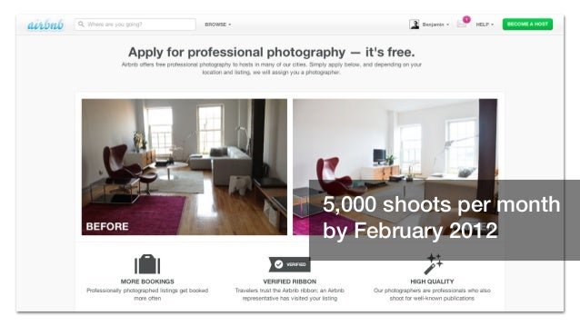 5,000 shoots per month by February 2012