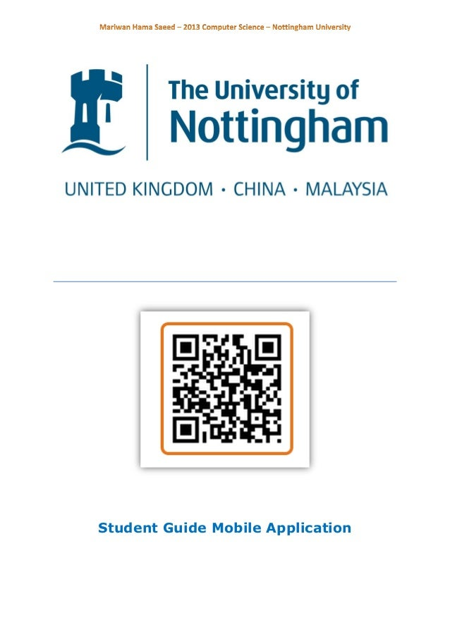 Student Guide Mobile Application