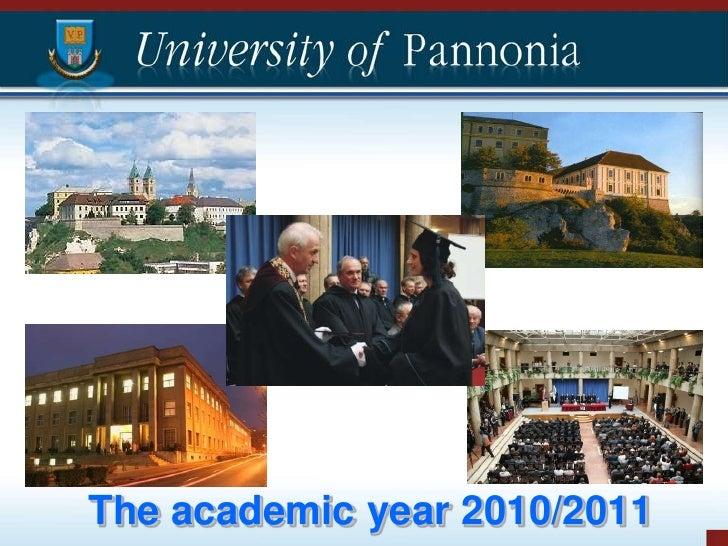 The academic year 2010/2011